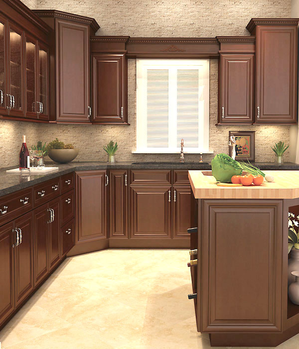 Solid Wood Kitchen Cabinets Made In Usa: Princeton Kitchen Cabinets