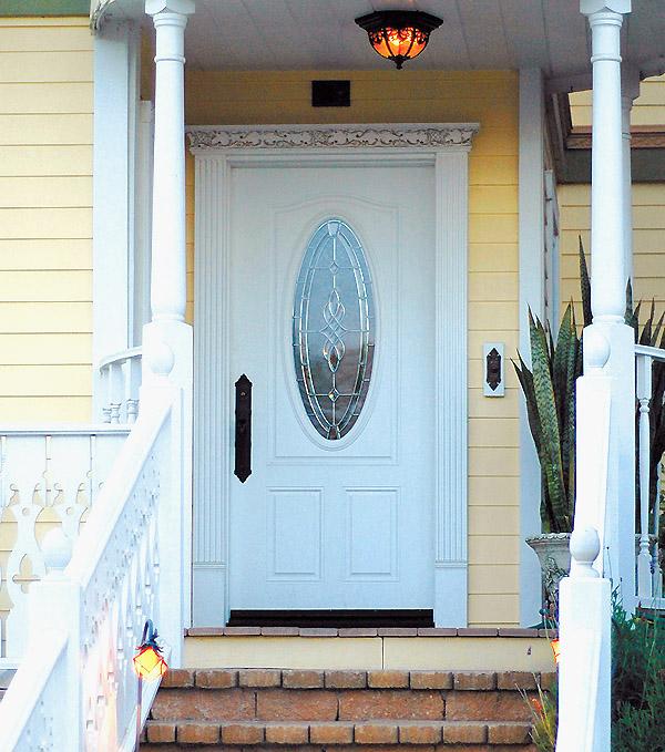 Fontana Oval Glass Door Builders Surplus