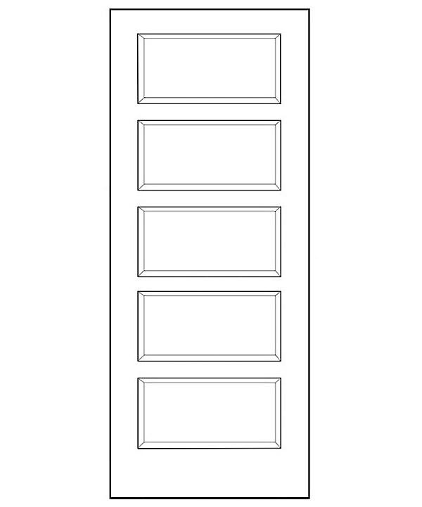 Conmore 5 Panel Interior Door Builders Surplus