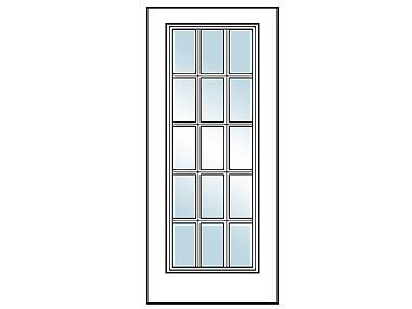 15 Lite Exterior Door  sc 1 st  Builders Surplus & 15 Lite Exterior Door - Builders Surplus pezcame.com