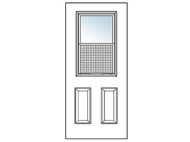 Venting Exterior Door
