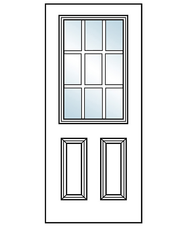 Emejing 9 lite exterior door gallery decoration design for 9 lite crossbuck exterior door