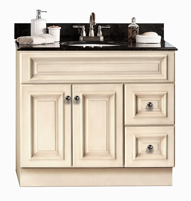 Tuscany maple bath vanity builders surplus for Bathroom cabinets builders warehouse