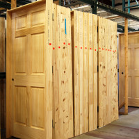 Prehung wood doors