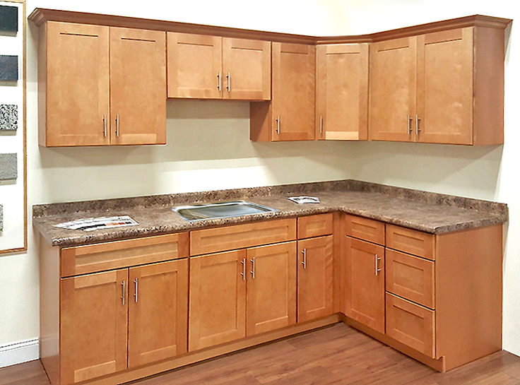 Sunco tuscany toffee kitchen cabinets cabinets matttroy for Builders warehouse kitchen cabinets