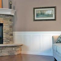 Wall & Fireplace