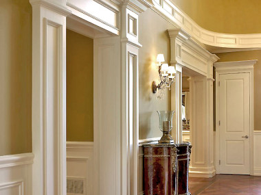 Decorative Moulding: Formal Interior