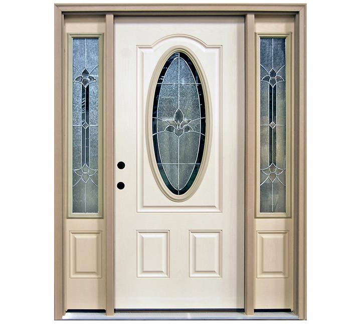 3/4-oval door with Sidelites  sc 1 st  Builders Surplus & Independence Oval Glass Door - Builders Surplus
