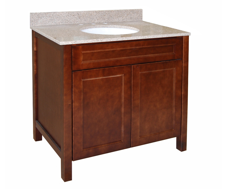 Lancaster 1 bath vanity builders surplus - Bathroom cabinets builders warehouse ...