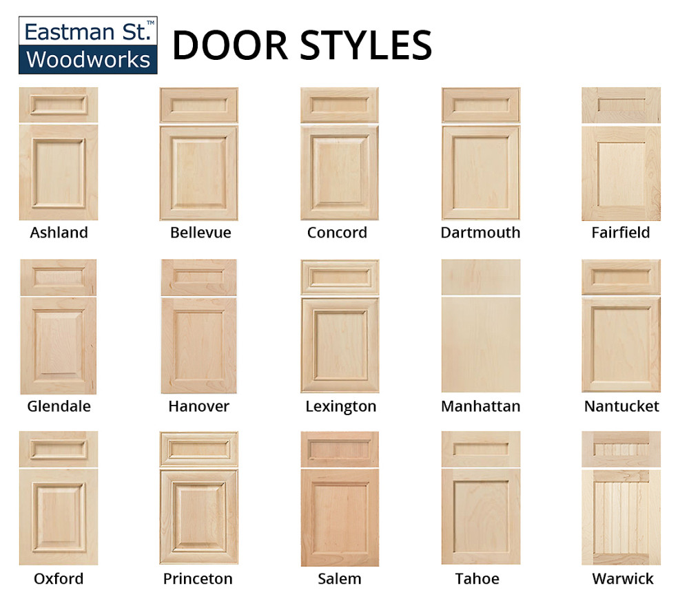 Door Styles  sc 1 st  Builders Surplus & Kitchen Cabinet Door Styles - Builders Surplus