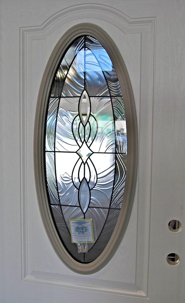 Jamestown Oval Glass Door Builders Surplus