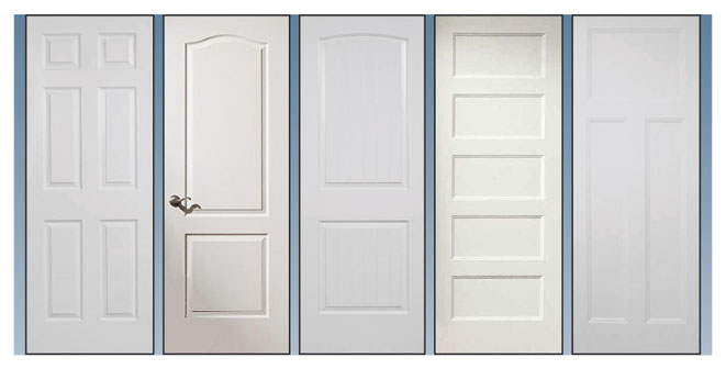 Interior doors door styles builders surplus for Different types of interior doors