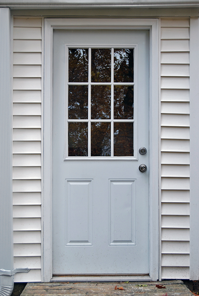 9 Lite Exterior Door