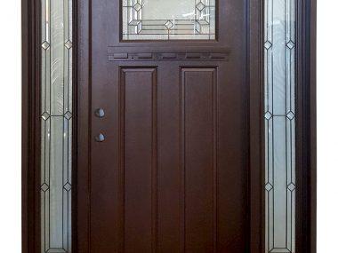 Prefinished Fiberglass Craftsman Door
