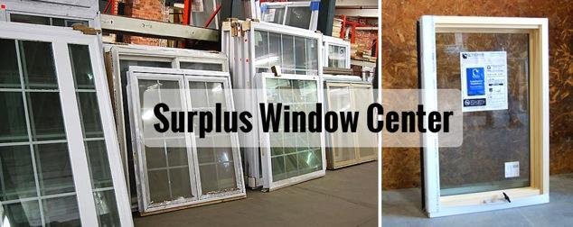 surplus windows center