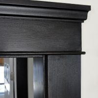 Crown stained walnut