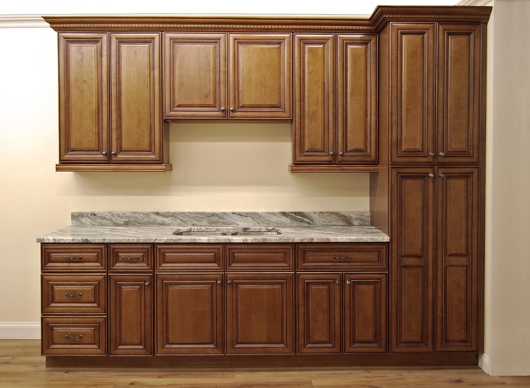Sedona Chestnut Kitchen Cabinets - Builders Surplus