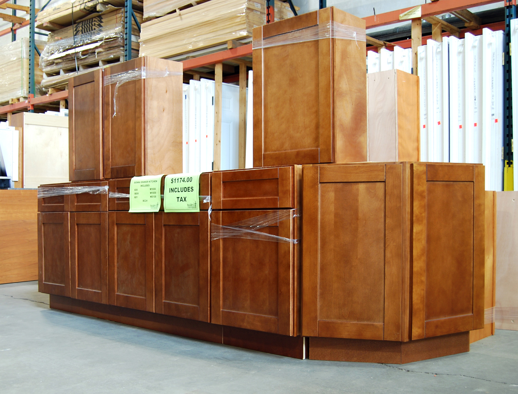 Sienna Shaker Kitchen Clearance Builders Surplus