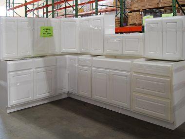 York White Kitchen Clearance