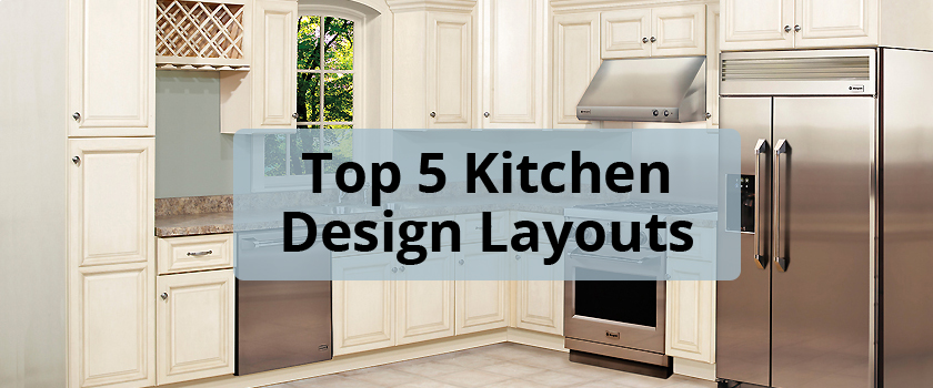Top 5 Kitchen Design Layouts For Your Home - Builders Surplus