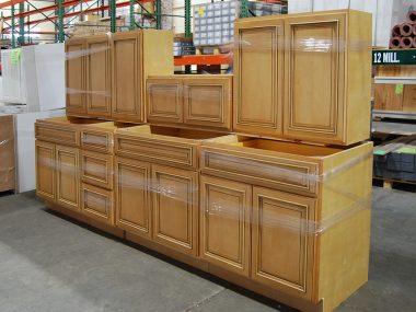 Honey Maple Kitchen Clearance