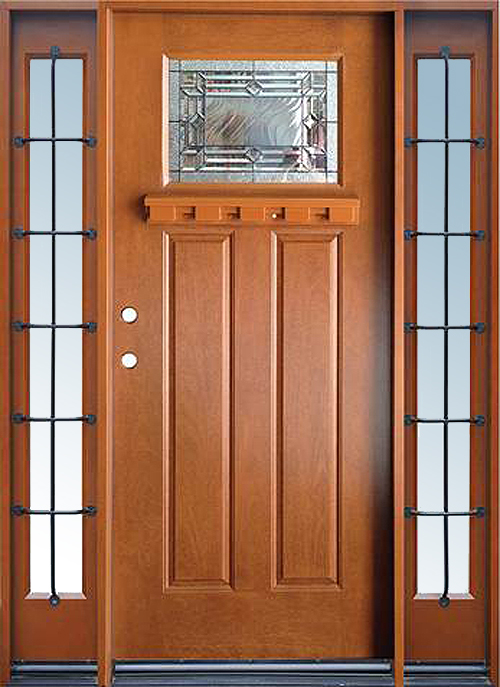 Craftsman Fiberglass Exterior Door Builders Surplus