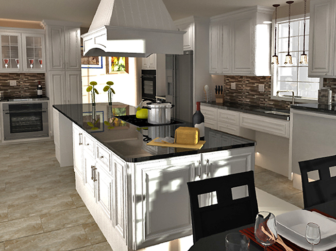 Biltmore pearl kitchen cabinets builders surplus for Builders warehouse kitchen designs