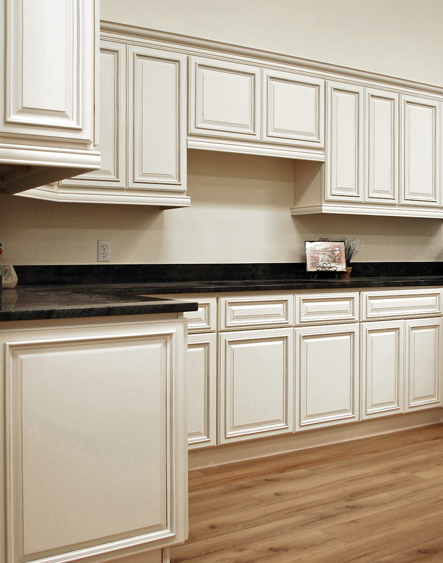 Kitchen Cabinets Natural Wood Doors With Painted Face