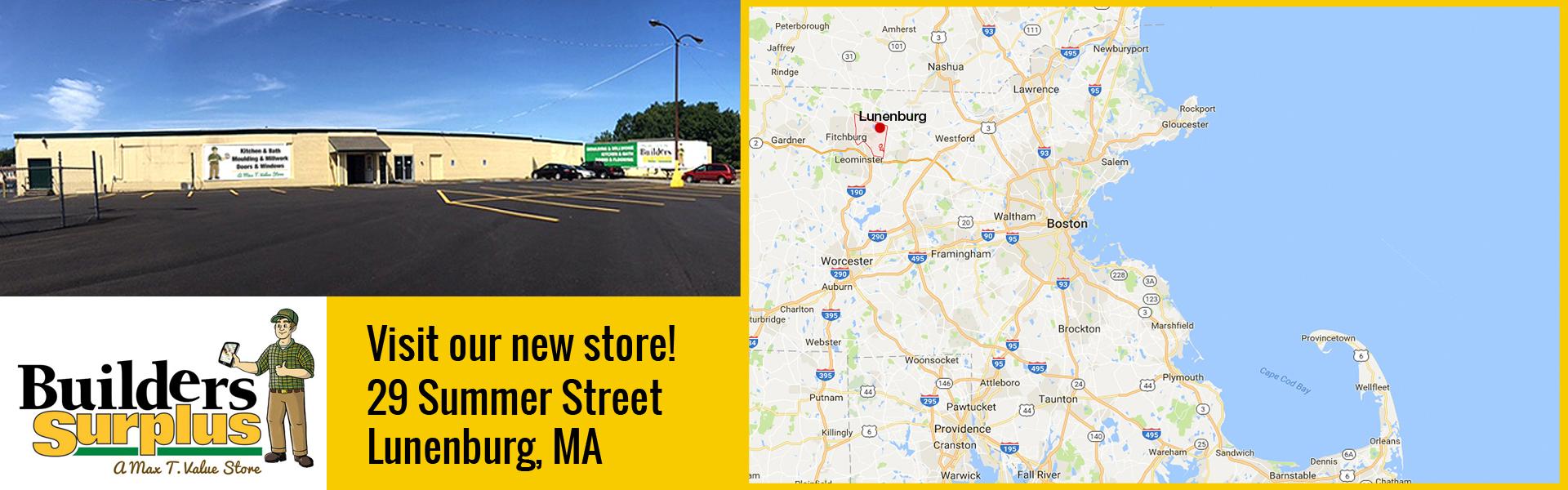 Lunenburg, MA store open