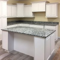 Cabinets with Island