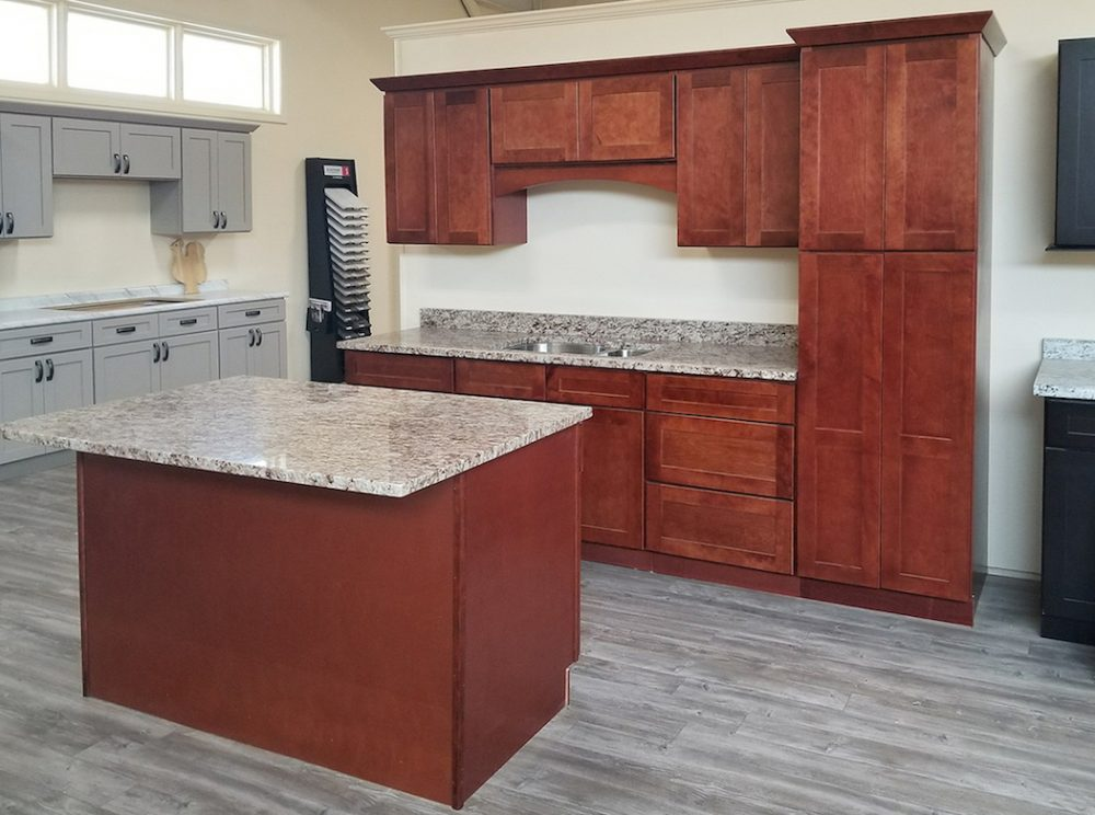Tuscany Merlot Kitchen Cabinets - Builders Surplus