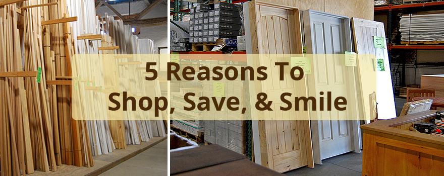shop, save, smile