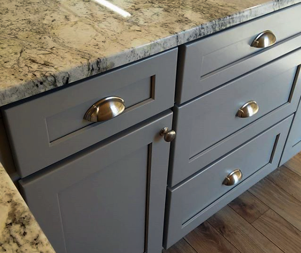 Kitchen Cupboards Builders Warehouse: Stone Harbor Gray Kitchen Cabinets