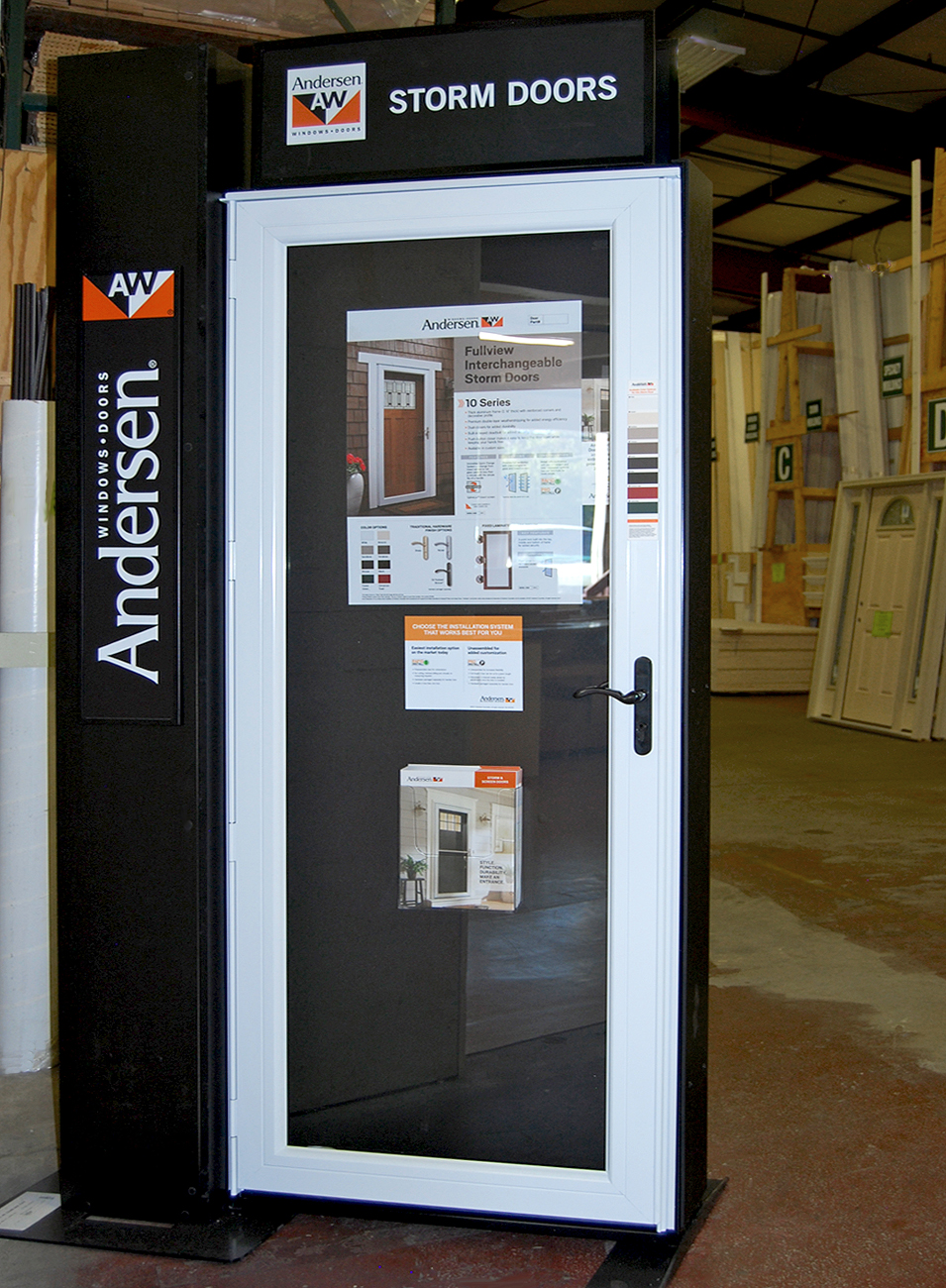 Storm Doors Builders Surplus