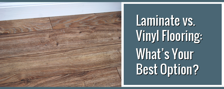 laminate vs vinyl flooring what is the best option. Black Bedroom Furniture Sets. Home Design Ideas