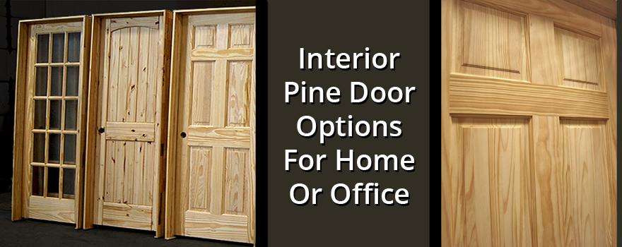 Interior Pine Door Options