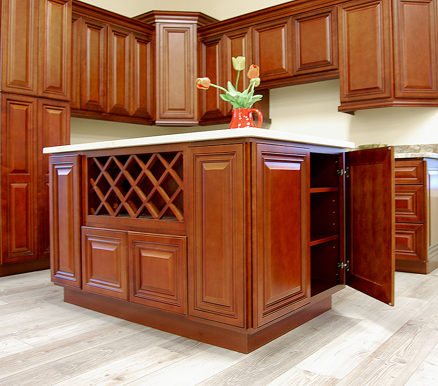Kitchen Cupboards Builders Warehouse: Grand Reserve Cherry Kitchen Cabinets