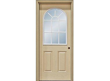 11 Lite Round Top Door