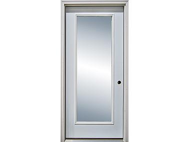 Full View Exterior Door