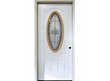 Independence Oval Glass Door