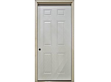 6 Panel Door – Exterior