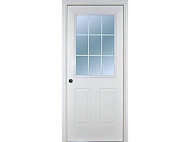 9 Lite Exterior Door Builders Surplus