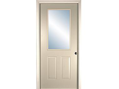 Half Glass Exterior Door