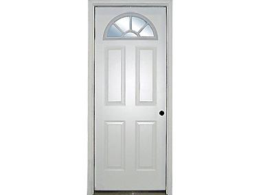 Fanlite Exterior Door