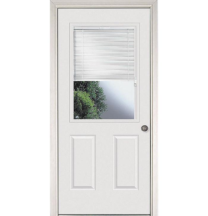 Mini Blinds Exterior Door Builders Surplus