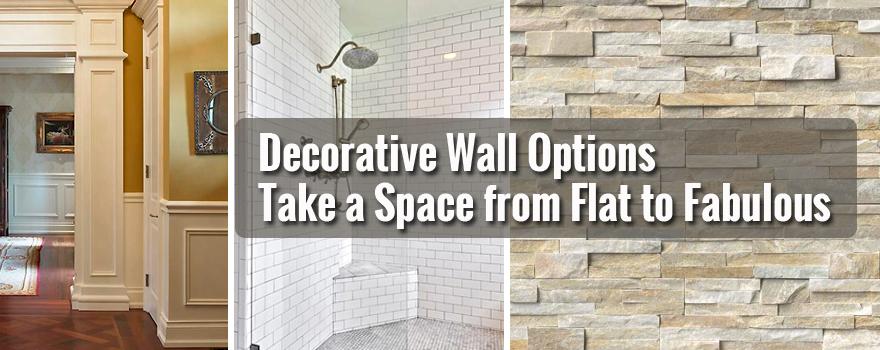 Decorative Wall Options Blog