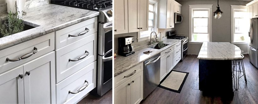 Another Remodel With Tuscany White Kitchen Cabinets