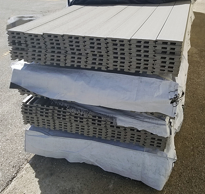 Indura Gray Composite Decking Builders Surplus