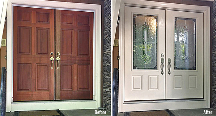 Adding Curb Appeal with a New Door