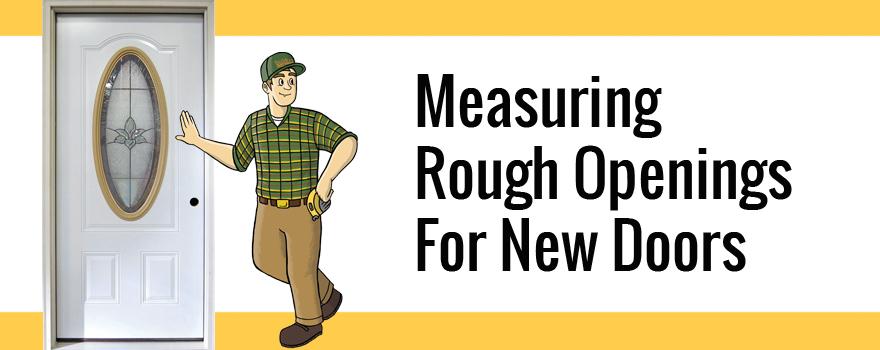 Doors Measuring Rough Openings Builders Surplus